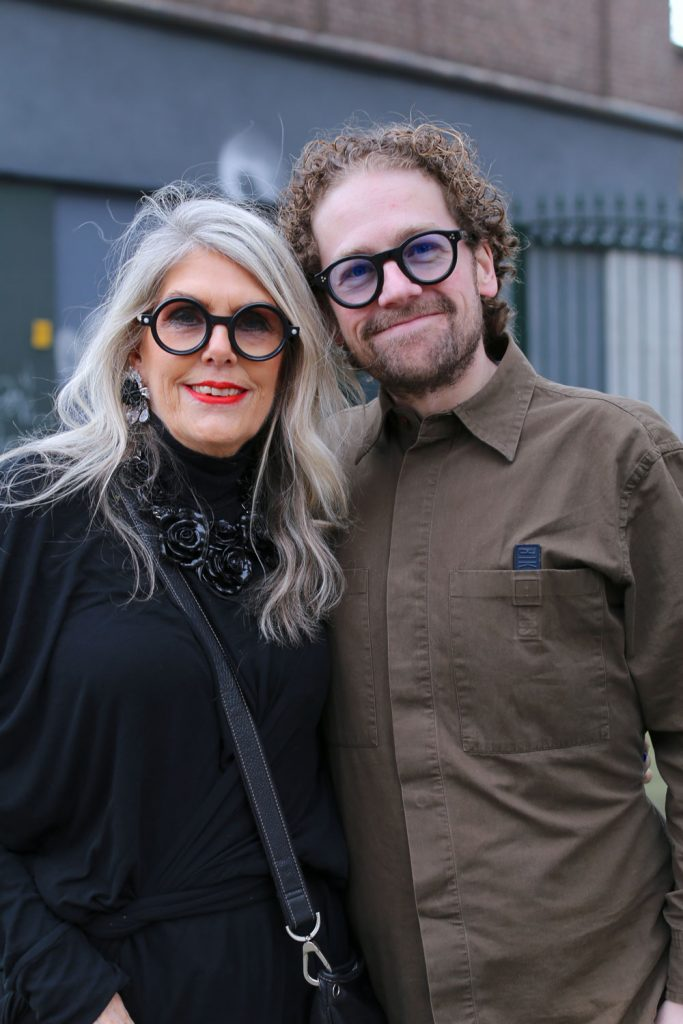 Ingrid & Clint - moeder & zoon in Rotterdam