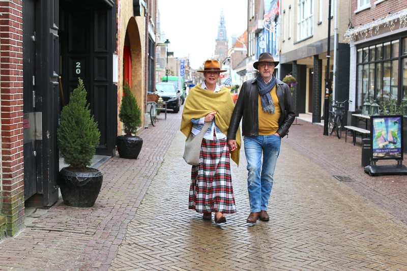 Straatfotografie in Schagen: Anneke en Marcel
