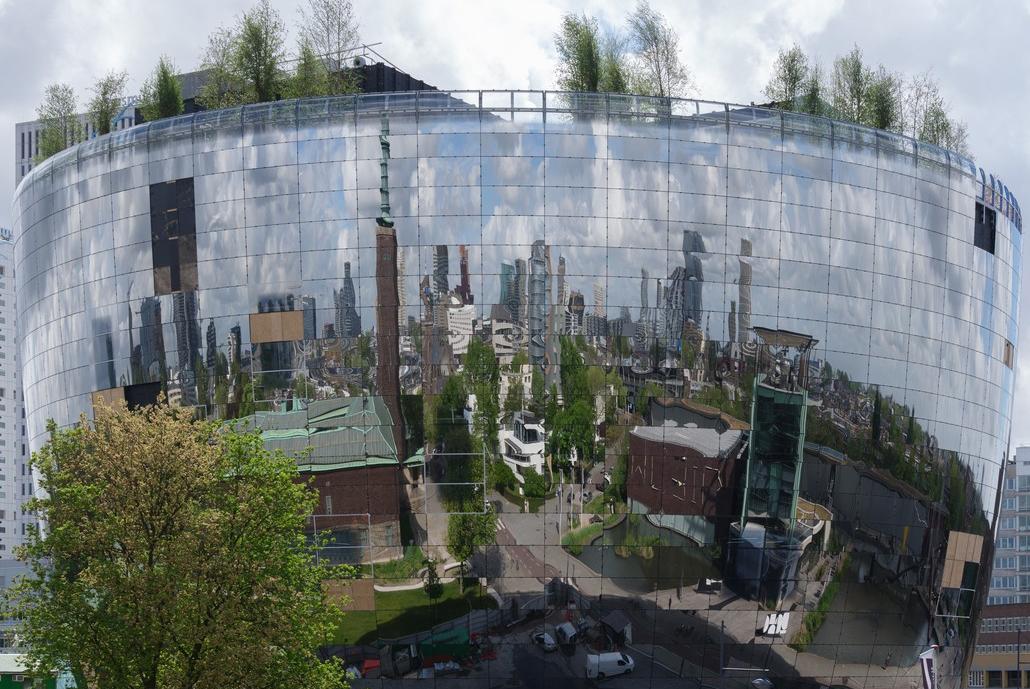 Zilveren opening depot Boijmans Van Beuningen