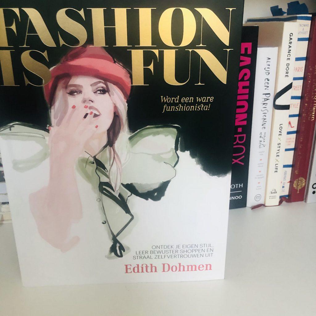 Fashion is fun door Edith Dohmen, een boek vol tips en weetjes