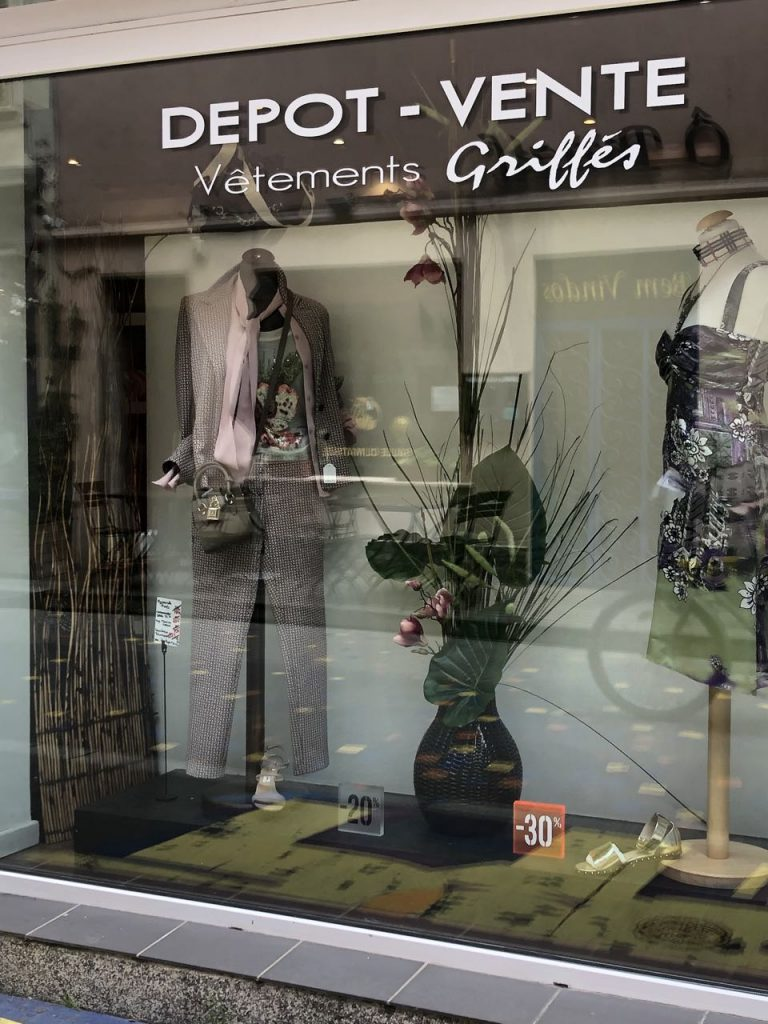 Twee tweedehands winkels in Straatsburg
