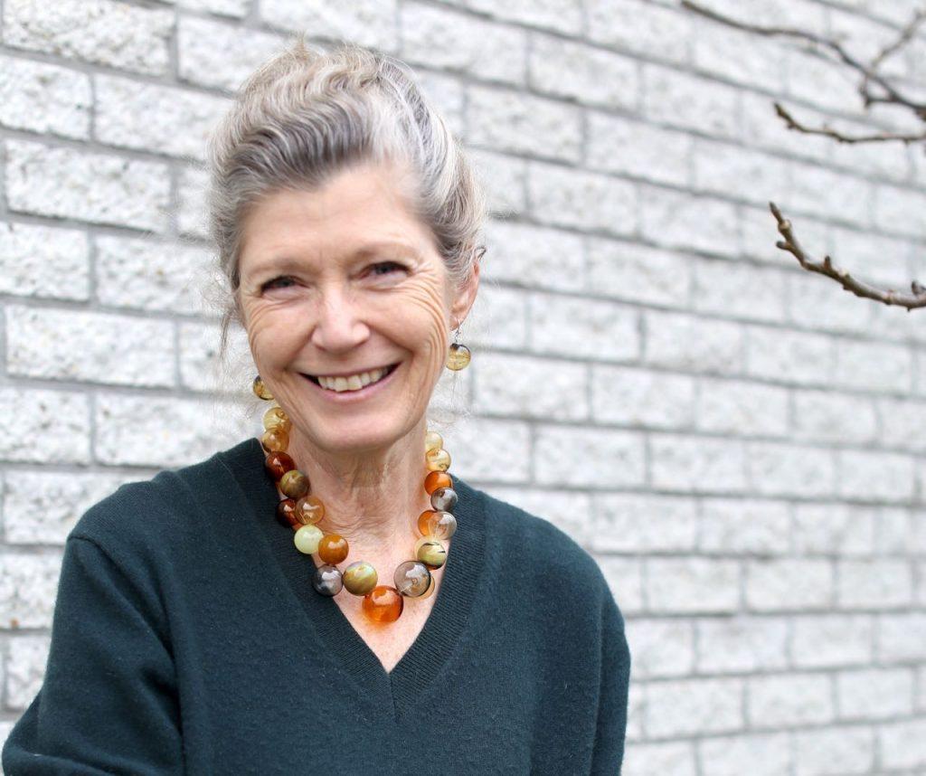 Anneke Westerbos is model, maar maakt ook sieraden