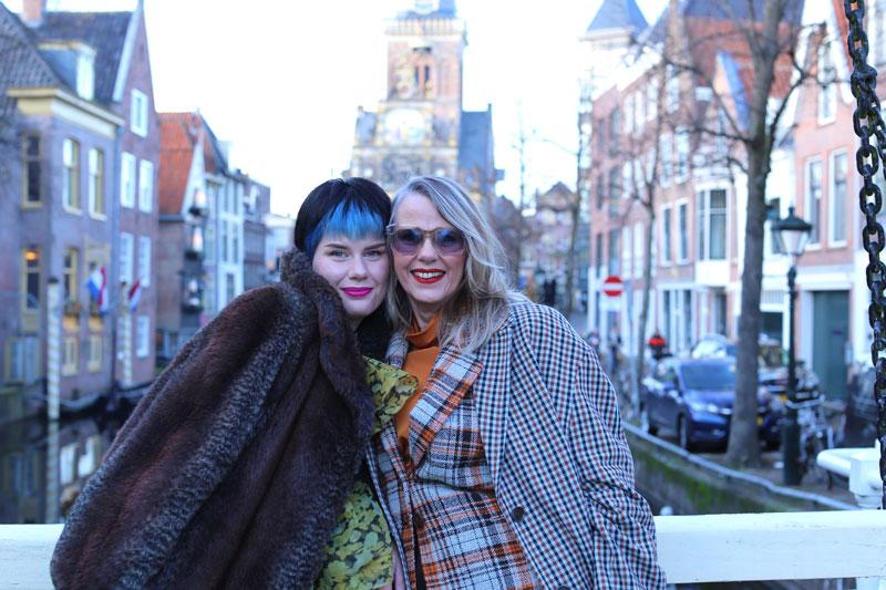modebewuste moeder & dochter in Alkmaar: Bianca en Teri