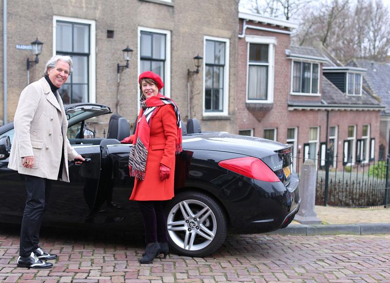 Straat fotografie in Capelle aan den IJssel: Rob en Anneke