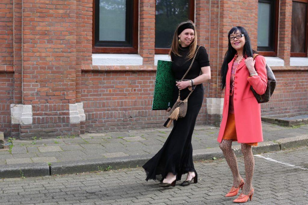 Vrouwen met een passie voor kunst: Monica en Brigit