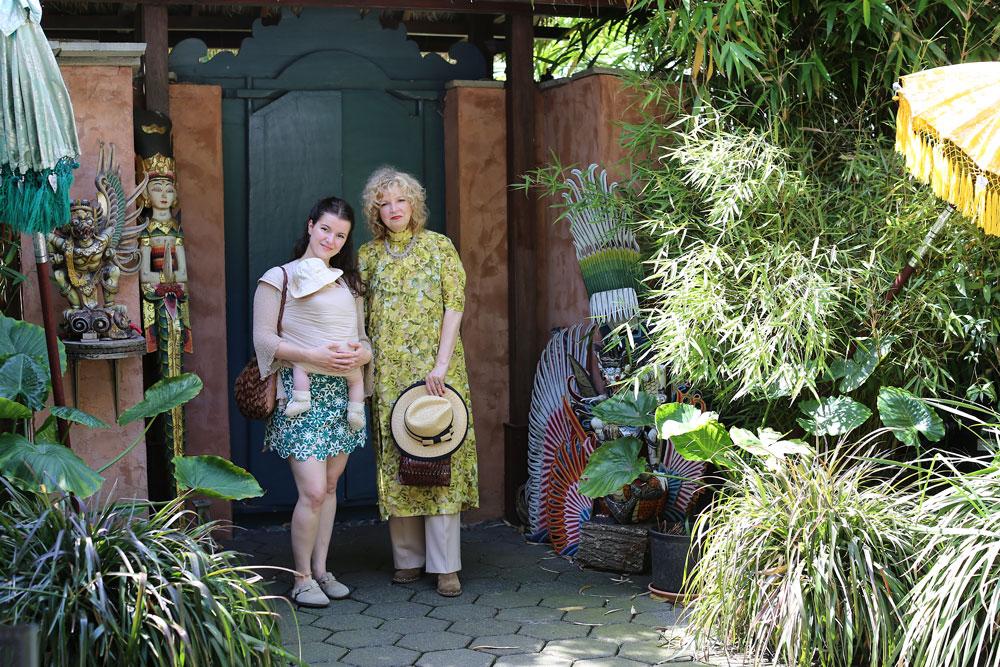 Style coach Monique in den Bosch met dochter Nina