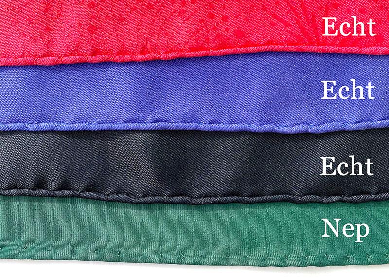 Waaraan herken je een echte Hermès sjaal